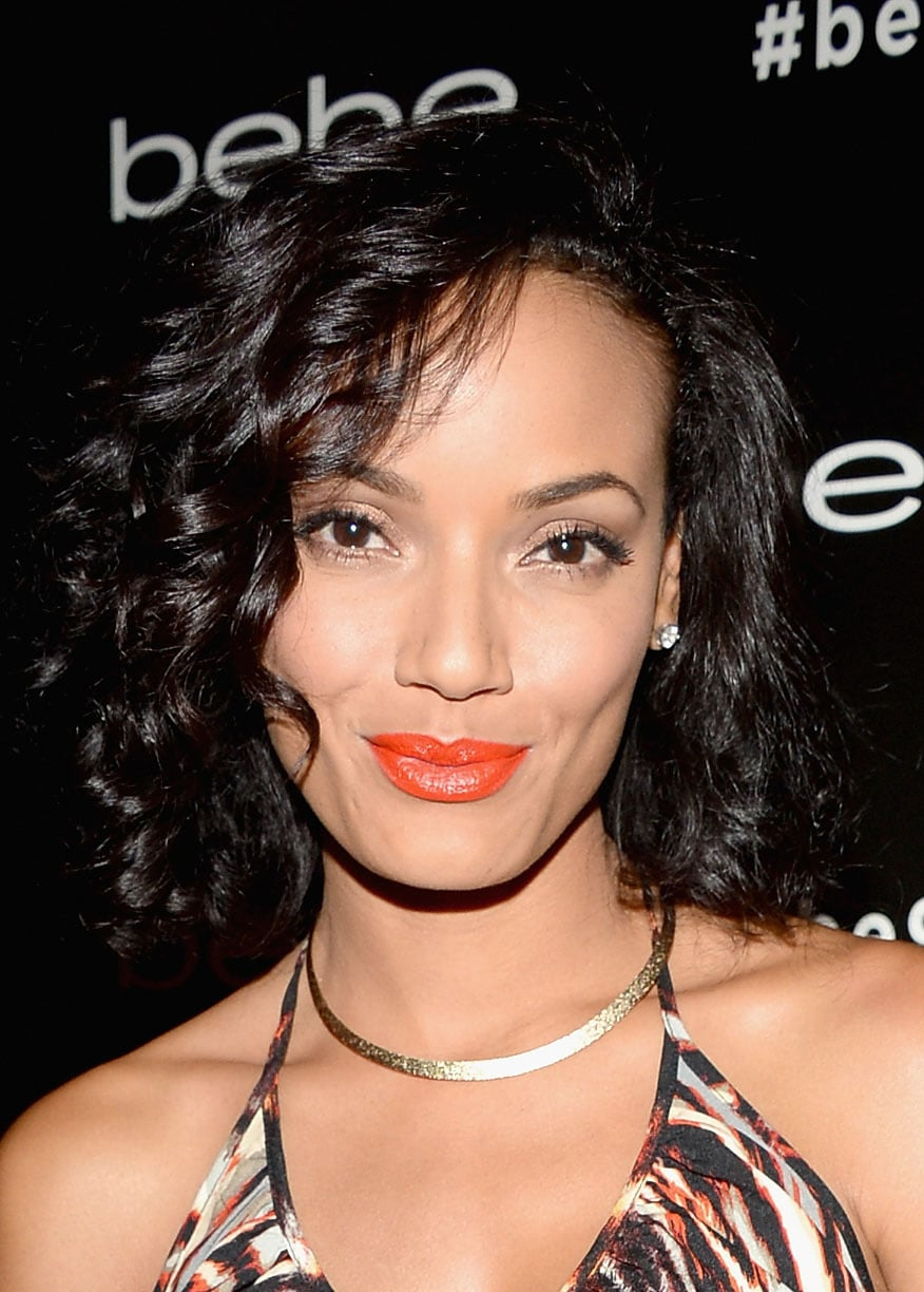 The bold orange lipstick Selita Ebanks wore is the perfect way to celebrate the last bit of Summer.