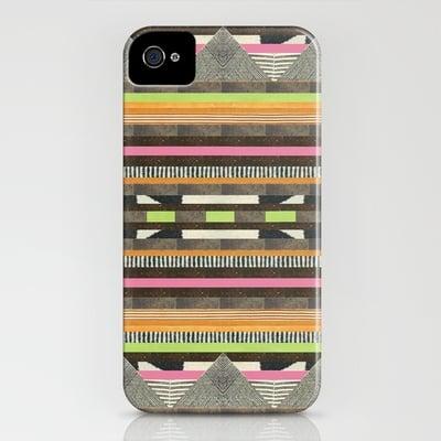 Aztec No. 2 by Dawn Gardner Smartphone Case