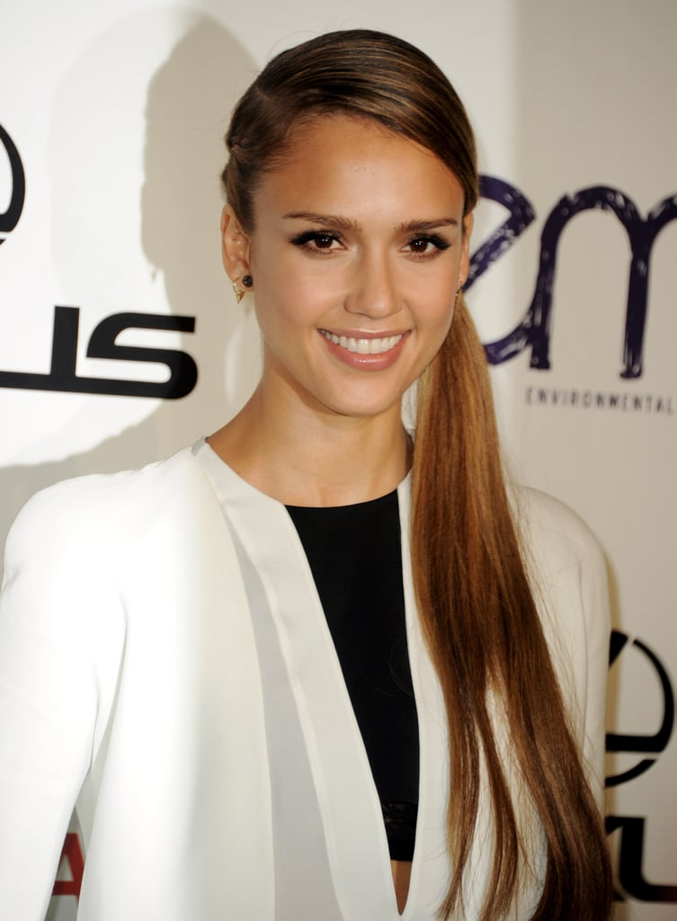 Jessica Alba and Ian Somerhalder Get Honored at EMAs With Star Support