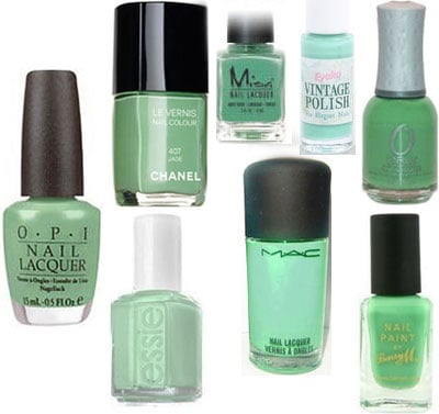 Green Nail Polish, Chanel Jade 2009-12-09 06:00:00