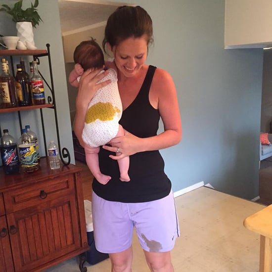 Mom's Photo of Baby With Blowout Diaper