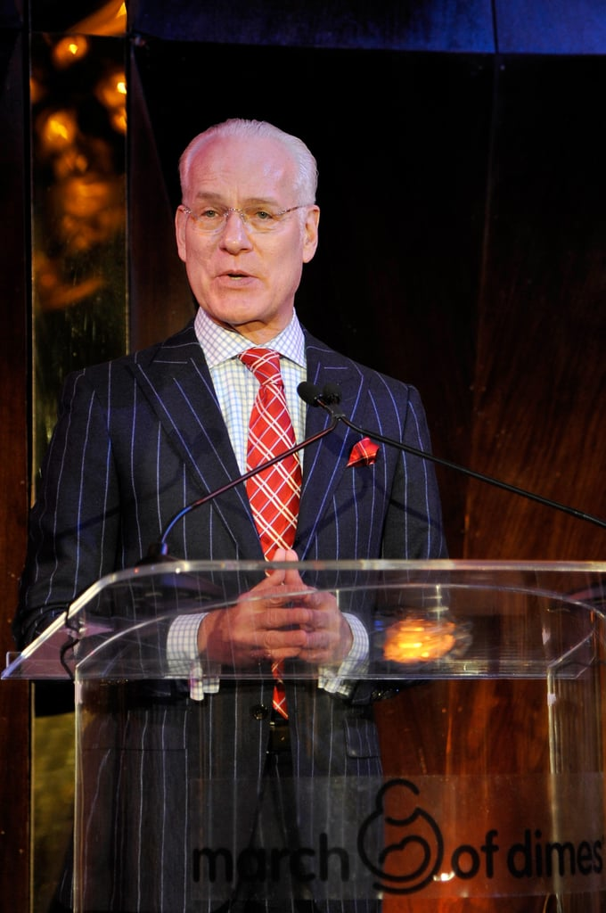 Tim Gunn took the stage at the March of Dimes event.