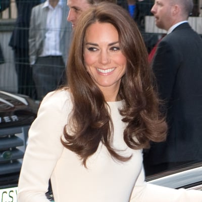 Kate Middleton Wears Roland Mouret Dress and Jimmy Choo Shoes