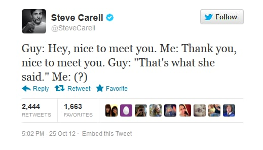 This age-old joke falls flat on Steve Carrell.
