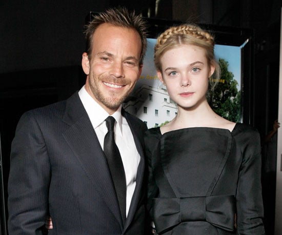 Slide Picture of Stephen Dorff and Elle Fanning at the Somewhere Premiere in LA