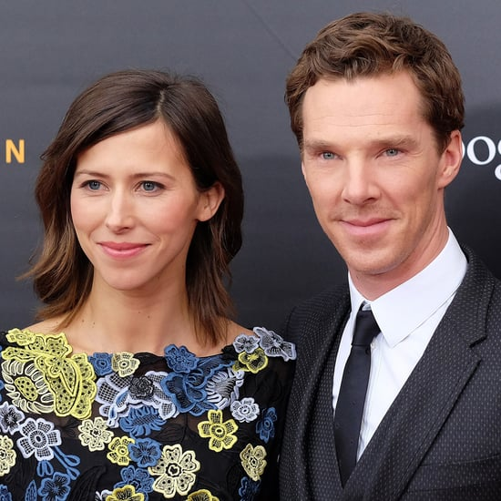 Benedict Cumberbatch and Sophie Hunter at The Imitation Game