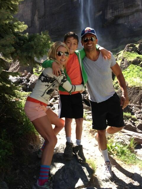 Kelly Ripa enjoyed a day of hiking with her family in Colorado. Source: Twitter user KellyRipa