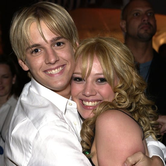 Aaron Carter Tweets About Love For Hilary Duff