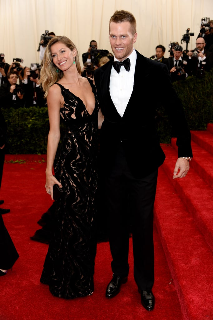 Gisele Bündchen and Tom Brady at the 2014 Met Gala