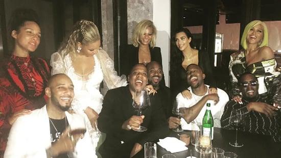 Swizz Beatz Posts Epic Post-VMA Pic With Wife Alicia Keys, Jay Z, Beyonce, Kanye, Kim Kardashian, Diddy & Cassie