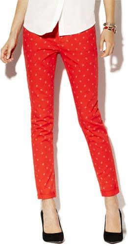 Star Print Shorty Jeans
