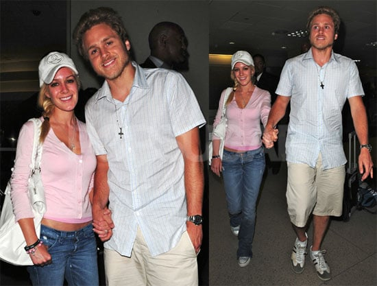 Photos of Heidi Montag and Spencer Pratt at LAX