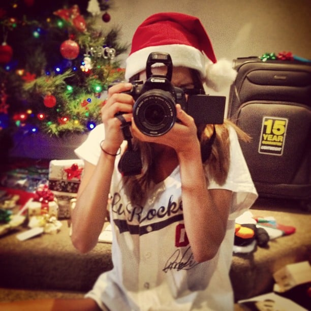 Rhiannon Fish's favourite present was a camera from boyfriend Reece Mastin. Source: Instagram user rhiannonmfish