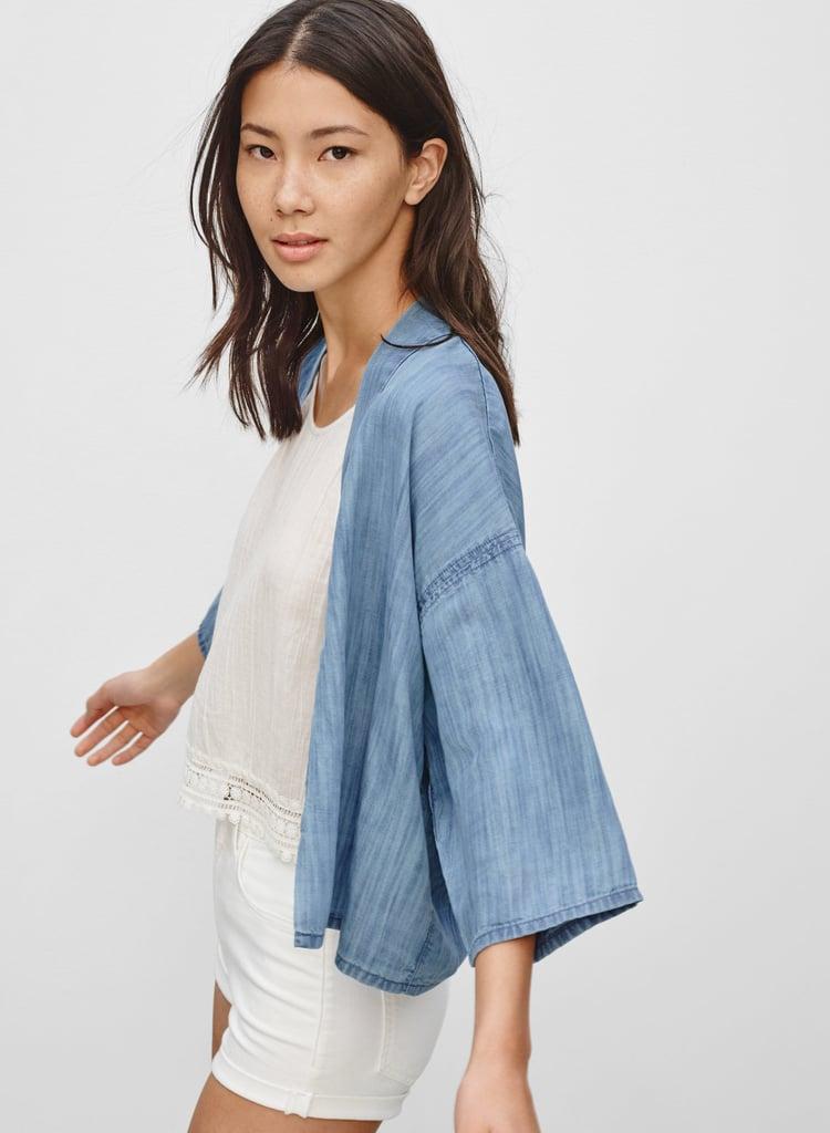Aritzia Denim Kimono