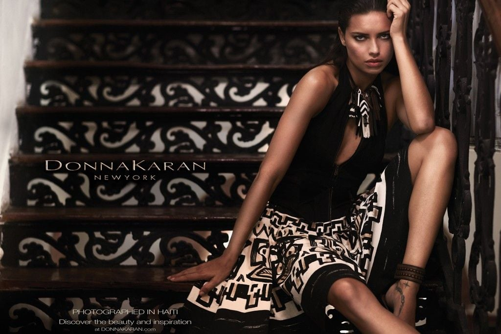 Adriana Lima is the subject of Donna Karan's Spring '12 ad campaign. Source: Fashion Gone Rogue