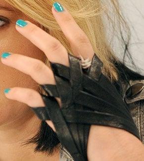 Turquoise Nail Polish Trend