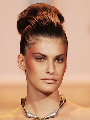 Spring 2011 New York Fashion Week: Christian Siriano Hairstyle