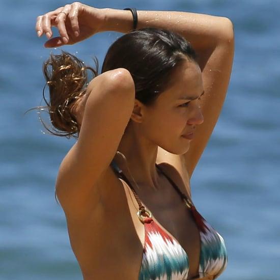 Jessica Alba Bikini Pictures in Hawaii April 2016