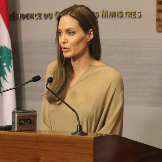 Pictures Of Angelina Jolie In Lebanon