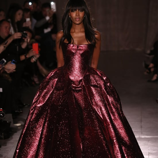 Naomi Campbell for Zac Posen New York Fashion Week Fall 2015