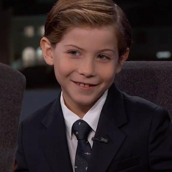 Room Star Jacob Tremblay on Jimmy Kimmel Live