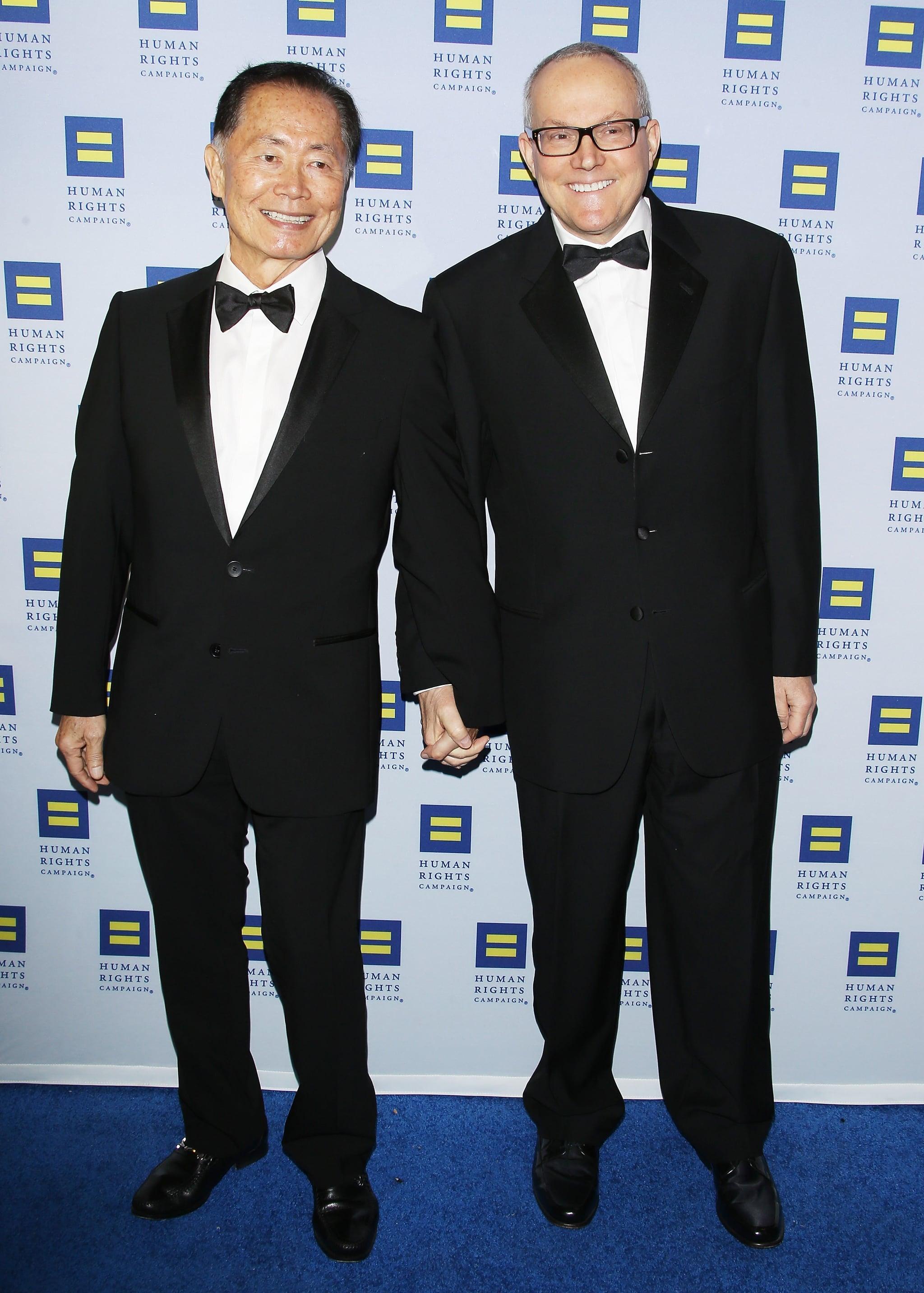 George Takei and Brad Altman