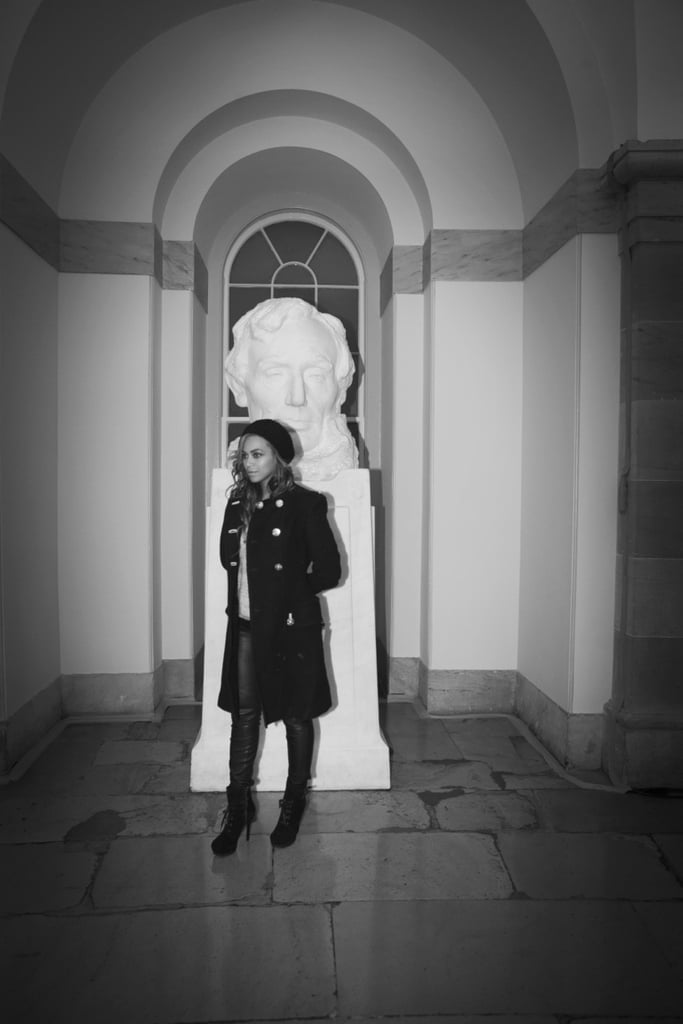 Beyoncé shared a photo from her trip to Washington D.C. Source: Tumblr user Beyoncé Knowles