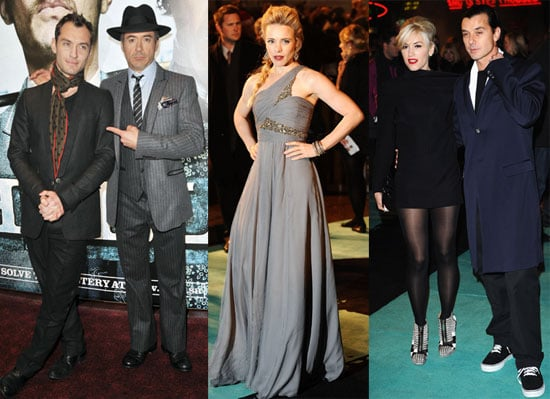 Photos From the London Premiere of Sherlock Holmes With Jude Law, Rachel McAdams and Robert Downey Jr