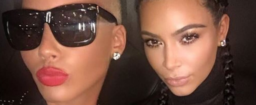 Amber Rose, Miley Cyrus, and More Celebrities Defend Kim Kardashian's Naked Selfie
