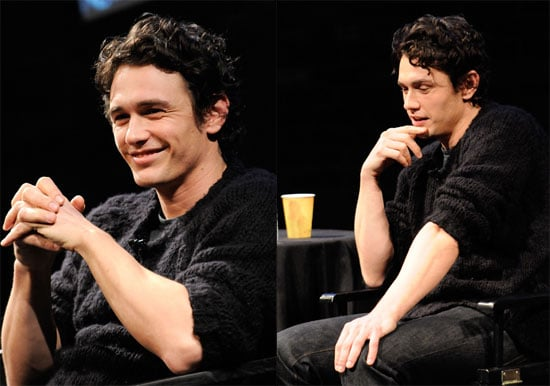 Photos of James Franco in NYC 2009-10-19 09:03:18