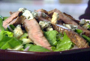 Monday's Leftovers: Steak Salad
