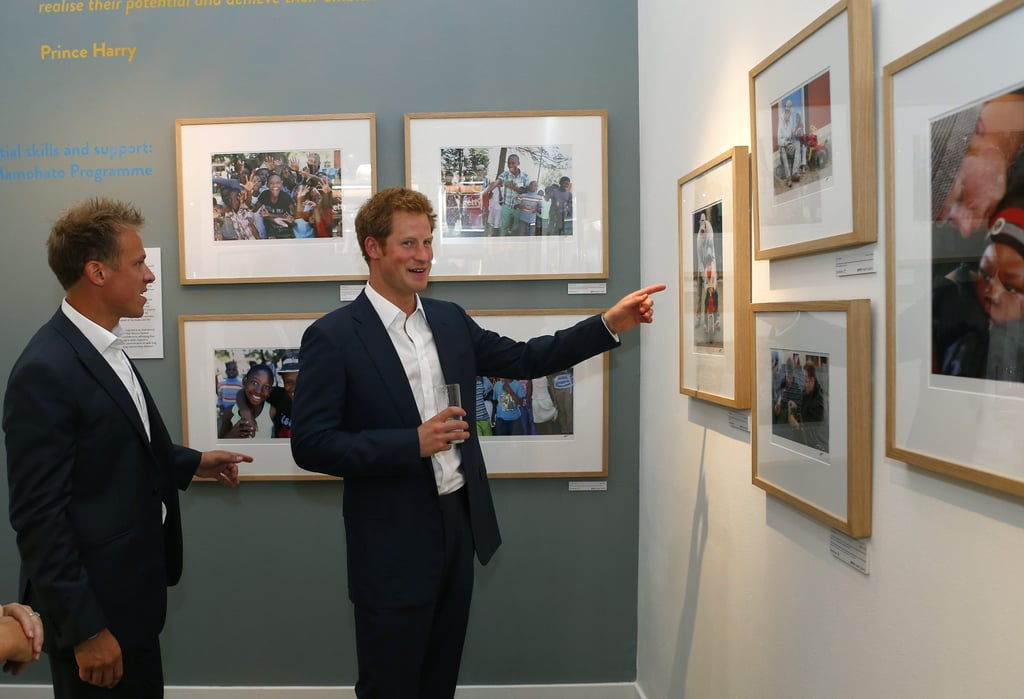 """Uncle on Duty: Prince Harry Says He'll Teach Prince George How to """"Have Fun"""""""