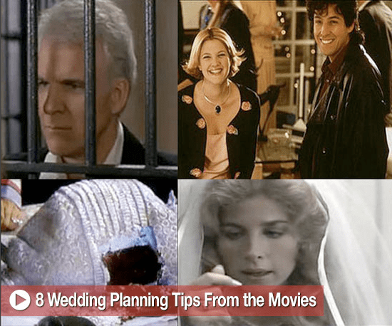 Sugar Shout Out: Eight Wedding Planning Tips From the Movies