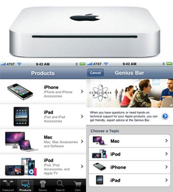 New Mac Mini and Apple Store Apps