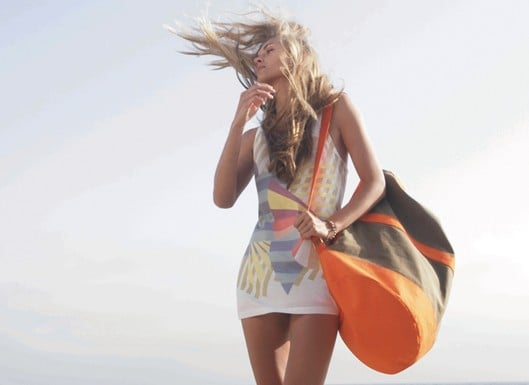Cynthia Rowley Surfs With Roxy