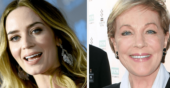 "Julie Andrews Said ""Oh, Wonderful!"" To News Of Emily Blunt's Mary Poppins Casting"