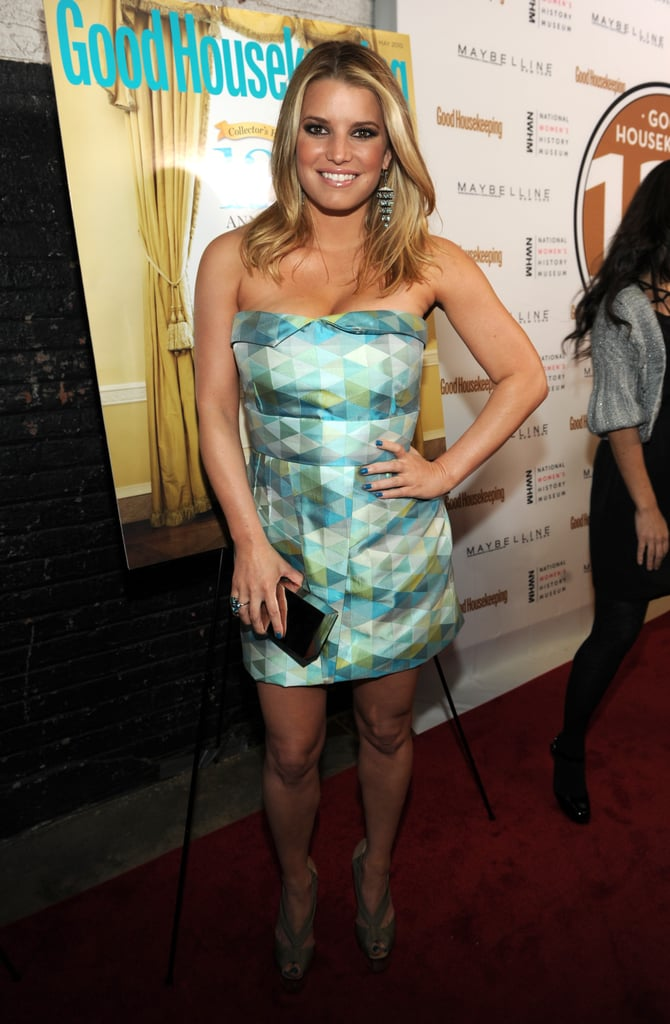 Pictures of Jessica Simpson at Good Housekeeping Event
