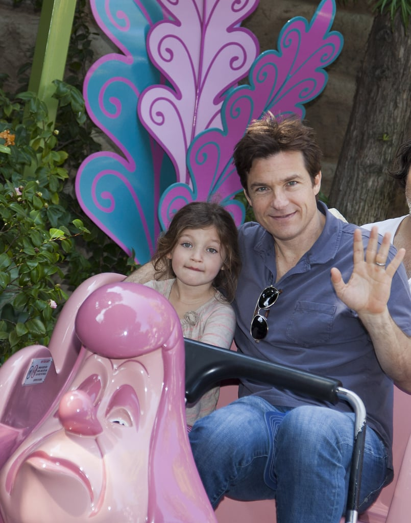 In March 2012, Jason Bateman had a father-daughter day with Francesca at Disneyland.