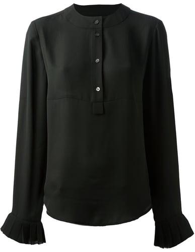 Mcq By Alexander Mcqueen round neck blouse