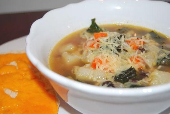 Yummy Potato, Bean, and Kale Soup Recipe