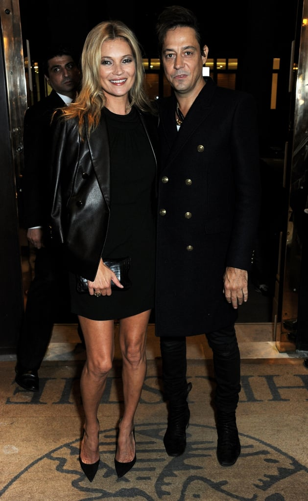 Kate Moss and Jamie Hince attended a private viewing of Kate Moss: The Collection in London.