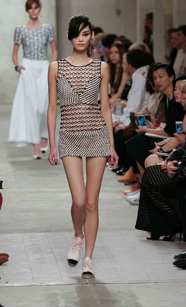 We can already picture the jet-set crew lounging poolside in this barely-there minidress.