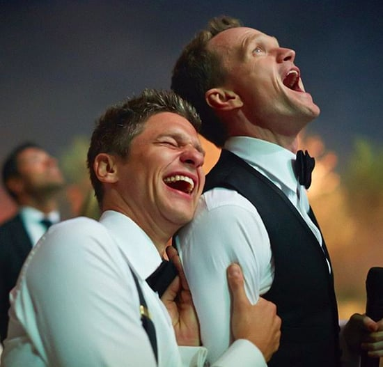 Neil Patrick Harris and David Burtka Wedding Picture
