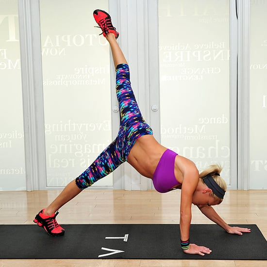 Tracy Anderson Leg Exercises