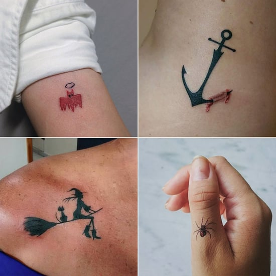 Cute Small and Mini Spooky Halloween Tattoos