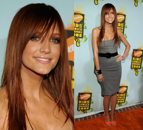 Kids' Choice Awards: Ashlee Simpson