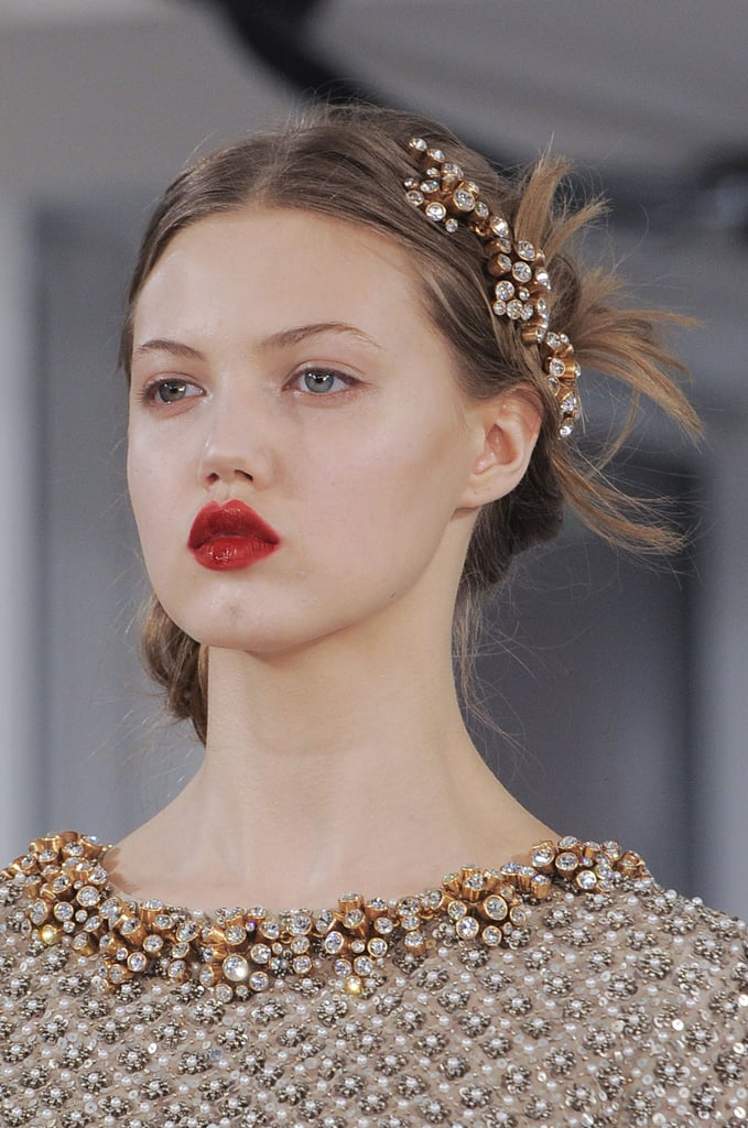 The Hair at Oscar de la Renta, New York