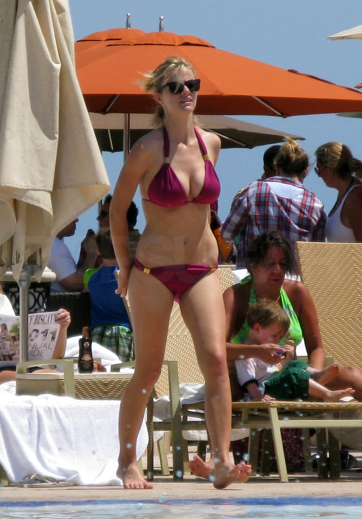 Brooklyn Decker Breaks Out a New Bikini For a Day in the Miami Sun