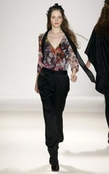 Autumn Winter 2008 Studio Visit with Designer Erin Fetherston Before Fashion Week in New York