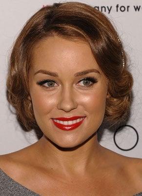 Lauren Conrad Wearing Red Lipstick